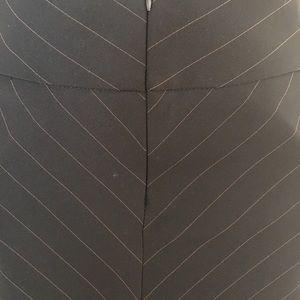 Dresses & Skirts - Pinstripe business below knee skirt
